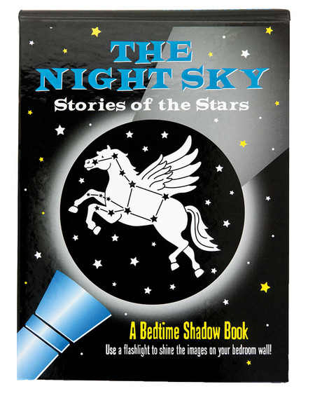 the night sky a bedtime shadow story book