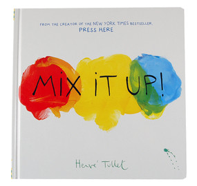 mix it up color paint interactive book for kids children birthday gift