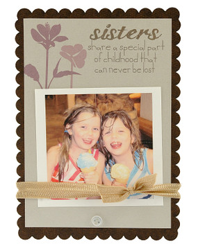 sisters sweet scallop frame