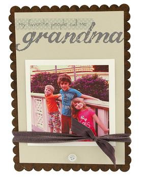 grandma  sweet scallop frame