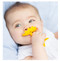 unique smart teether baby shower gift ez grip easy grip yellow star