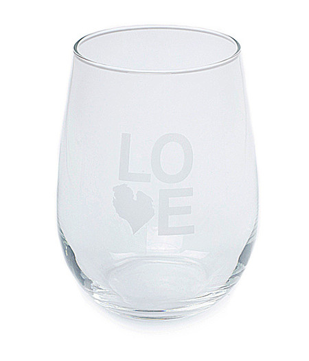 love michigan detroit stemless wine glass souvenir gift m22 unique state great lakes