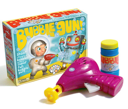 bubble gun summer fun toy cute gift for little boys girls outdoor shoots stream of bubbles