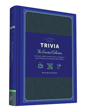 ultimate book of trivia essential collection curious facts impress friends expand your mind knowledge great gift stocking stuffer guy teen boy girl dad grandpa mom wife person that has everything