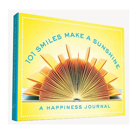 101 smiles make a sunshine unique specialty happiness journal record happy thoughts daily book gift for mom girlfriend teen daughter