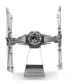 star wars tie fighter metal earth 3d model kit three dimensional great gift stocking stuffer for guys men teen brother dad memorabilia fathers day