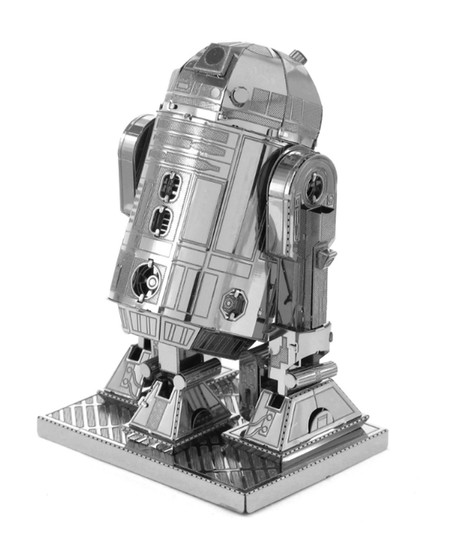 star wars character r2d2 metal earth 3d model kit three dimensional great gift stocking stuffer for guys men teen brother dad memorabilia fathers day