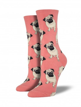 cute gift for pug lover stocking stuffer socks