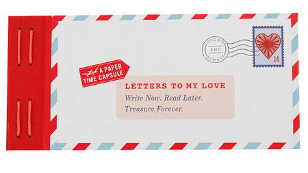 Letters To My Love Book  Cute Unique Valentines Day Anniversary