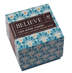 believe thoughtfull mini inspirational motivational cards inspiring quotes just because