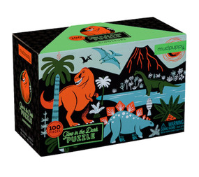 glow in the dark puzzle cool dino gift little boy girl stocking stuffer birthday
