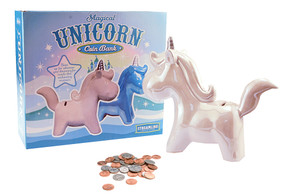 magical unicorn bank gift little girls tween unique way to save money cute whimsical