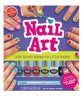 nail art book kit little girls cute gift activity manicure set
