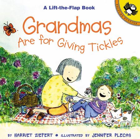 grandmas are for giving tickles lift the flap book stocking stuffer little boys girls birthday gift