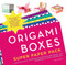 origami  boxes book how to instructional mini container paper folding fun family craft gift mom