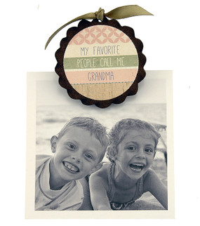 my favorite people call me grandma pic photo clip fridge magnet whimsical quote saying sentiment magnetic inspirational