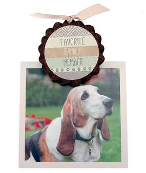 favorite family member dog cat pet photo clip fridge magnet whimsical quote saying sentiment magnetic inspirational