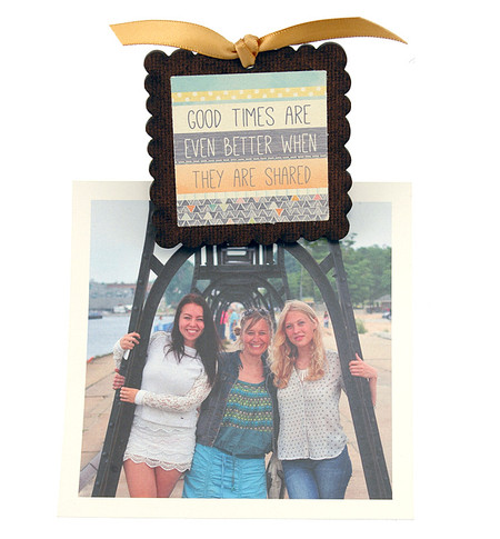 good times photo clip fridge magnet whimsical quote saying sentiment magnetic inspirational