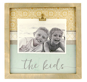 the kids rustic large clip frame  mom gift mothers day fathers day family whimsical