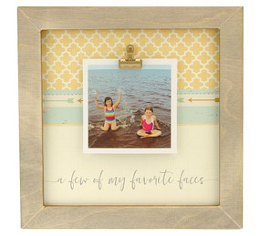 a few of my favorite faces rustic clip frame whimsical valentines day gift mothers day mom birthday kids handmade usa custom personalized family