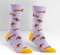 hot dogs weiner dachshund puppy socks novelty cute whimsical stocking stuffer gift  girls women