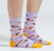 cute teen women dog lover socks
