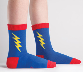 superhero superman kids crew socks birthday gift stocking stuffer cute unique easter basket
