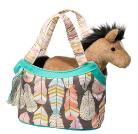 horse pony sassy sak douglas toys cute gift little girl stocking stuffer birthday friend