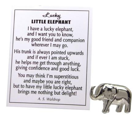 lucky little elephant,elephant,charm,luck
