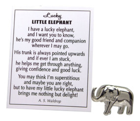 lucky little elephant,elephant,charm,luck