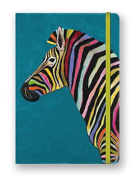 journal, small journal, pocket journal, zebra, animals