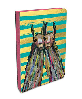 journal, animals, llamas