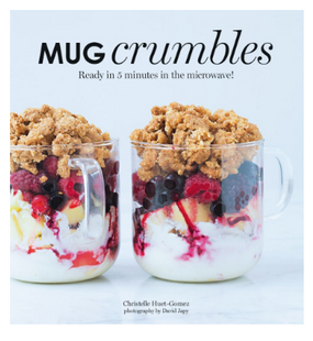 mug crumbles,dessert,snacks,mug cake,recipe book,cookbook