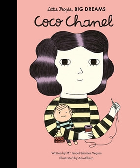 coco chanel,little people big dreams,books,children's books