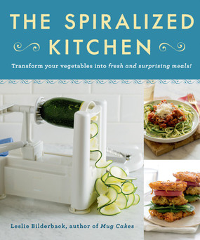 recipes,spiralizer,healty eating,book,low-carb