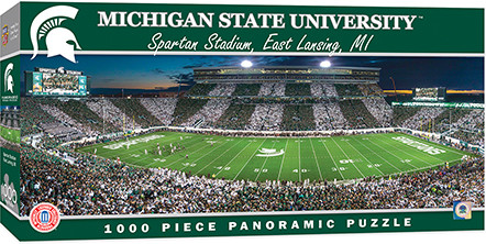 puzzles,michigan state,stadium,sports,football