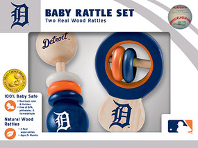 rattle,baby,gift for baby shower,detroit tigers,baseball,michigan,sports