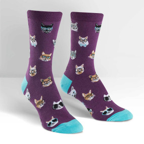 Smarty Cats Womens Socks