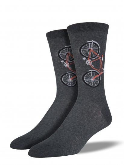 bicycle, mens socks, crew socks