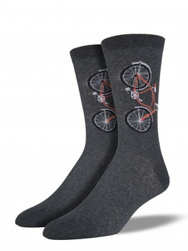 bicycle, mens socks, crew socks