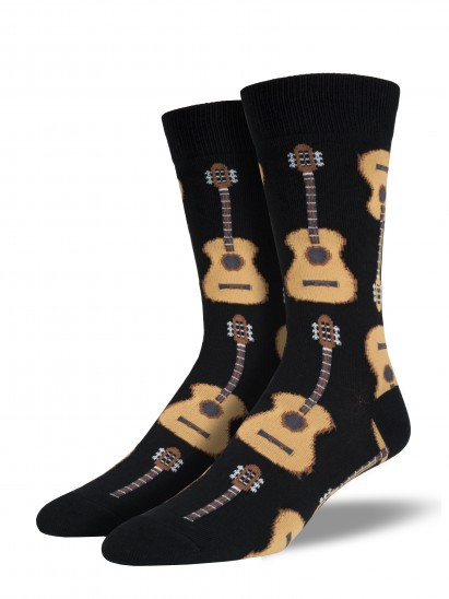 guitar, musician, socks