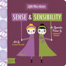 primer, opposites, sense and sensibility, jane austen, babylit, baby book, board book
