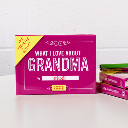 grandma, gift, book, fill in the blank,