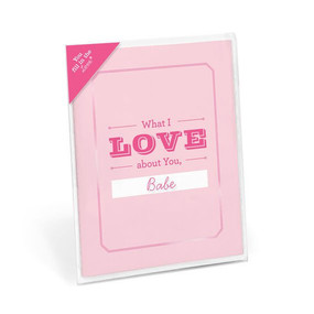 fill in love card valentines day card personalized