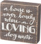 box sign, love, inspirational, whimsical