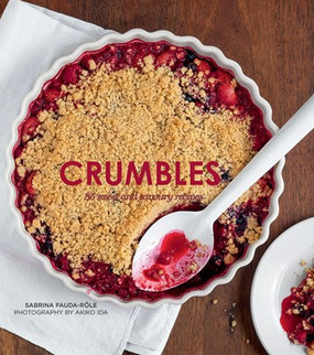 crumbles, cookbook, recipes, desserts