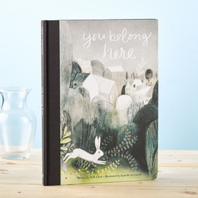 children's book, book for kids, picture book, you belong here, sweet, inspirational