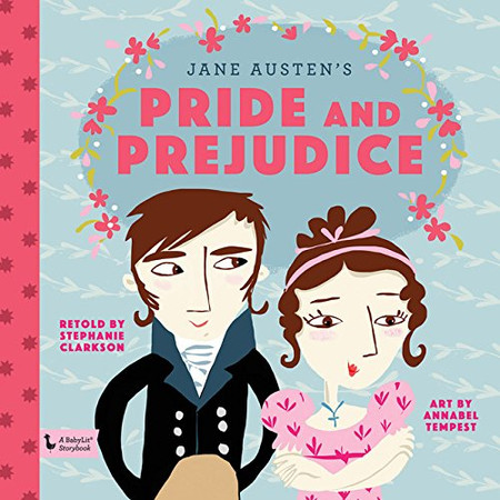 book, babies, babylit, storybooks, classics, jane austen, pride and prejudice