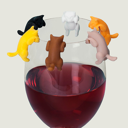 drink markers, pets, cute, gift for party