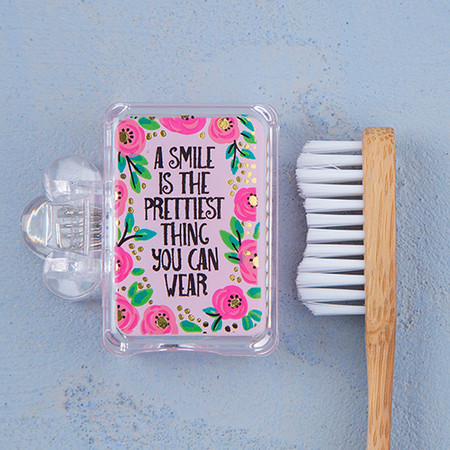 toothbrush cover, toothbrush, brushing teeth, little gifts, bath and body